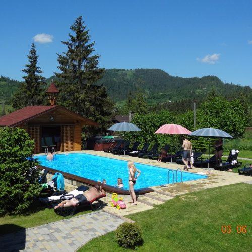 Открытый бассейн - фото 3