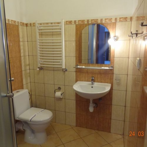 Standart twin - view bathroom